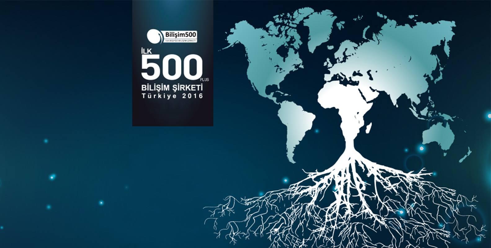 İlk 500 Bilişim Şirketi İçinde Voice Telekomda yerini aldı !